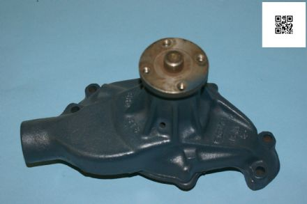 1977-1978 Corvette C3 Used Water Pump Blue GM 330818, Used Good